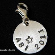 Abi-Charm in Arialschrift