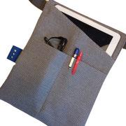 18. ipad heuptasje  in zwart en grijs op voorraad