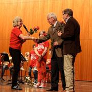 Herr Höreth und Herr Berger von den Rotariern