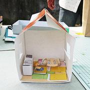 10もっと作りたいととても楽しんでくれていました。大きな窓の明るいお家。