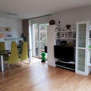 Wohnbeispiel Wohnbereich eines privaten Messehauses zur EMO über 4yourfairs
