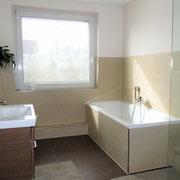 Anders als ein Hotel und mehr als nur ein Messezimmer - Badezimmer eines privaten Messehauses über 4yourfairs