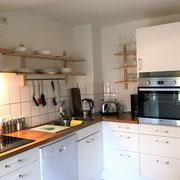 Wohnbeispiel Küche eines privaten Messehauses zur CeBIT 2018 über 4yourfairs