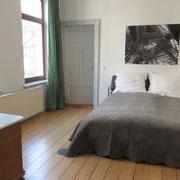Messezimmer Hannover - Schlafzimmer eines Messeapartments über 4yourfairs