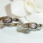 お客様デザインの結婚指輪をコンピュータで3Dで立体画像にして確認できます