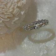 結婚指輪にフルエタニティーを選ぶ方も増えました