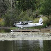 Wasserflugzeug des Canim Lake Resort