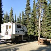 Campsite im EC Manning P.P.