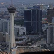 Las Vegas Strip aus der Luft