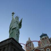 New York New York mit Achterbahn