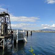 Fährhafen in Campbell River