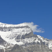 Flanke des Mt. Robson