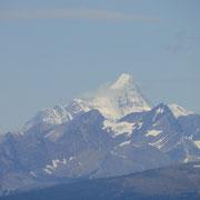 Mount Robson in der Ferne