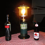 die wohl teuerste Gaslampe der Welt (aber de Truni hät Freud)