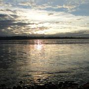 Sonnenuntergang an der Johnstone Strait
