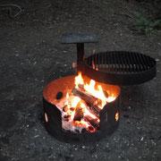 unser täglich Lagerfeuer gib uns heute
