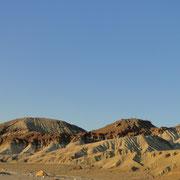 Felsformationen im Death Valley