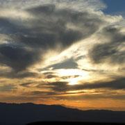 Sonnenuntergang überm Canyon