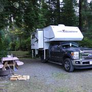 Campsite am Quatse River