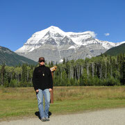 Mike vor Mt. Robson