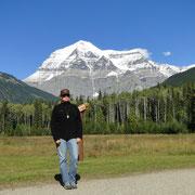Mike vor Mt. Robson