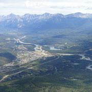 Sicht auf Jasper von Whistlers