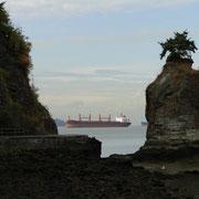 Stanley Park mit Aussicht auf English Bay