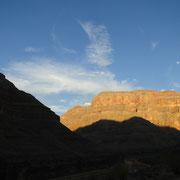 nette Stimmung bei unserem Canyon-Picknick