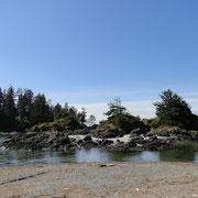 herrliche Bucht am Wickaninnish Beach
