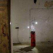 Blick in den Raum 1 des Bunkers