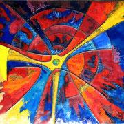 Im Zentrum, 1972; 23,5 x 34,5 cm