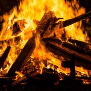 Auch ein schönes Feuerchen kann entzückerchen... was?