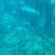 支笏湖の湖底です。