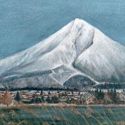 2013年1月 磐梯山