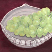 2014年10月 志野焼と葡萄