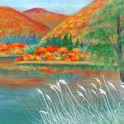 2013年10月 白川湖畔の秋
