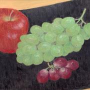 2017年11月 林檎と葡萄