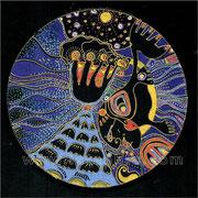 Les abîmes de la sirène - diam.0.20 - Posca et Ors - 2010 - Toute reproduction interdite