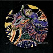 Sans titre - diam.0.15 - Posca et Ors - 2010 - Toute reproduction interdite