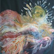 Univers 2 - 50*70 - Acryliques - 2007 - Toute reproduction interdite