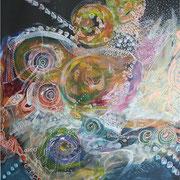 Univers - 50*70 - Acryliques - 2007 - Toute reproduction interdite