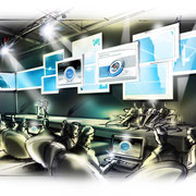 Bühne interaktiv