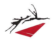 Linoldruck - Ich lobe den Tanz II - Motiv-Größe von ca: 31x42 cm (HxB) - Blatt:  70 x 50 cm