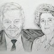 Auftrag, Bleistift auf Papier, Dina 2,  2010
