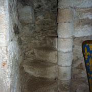 l'escalier de la tour