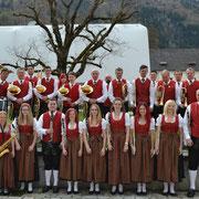 2018: Gruppenfoto nach dem Wertungsspiel in Ossiach