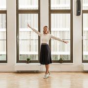 Alexandra, Tanzlehrerin der Tanzschule Leseberg in Pinneberg. Fotografiert von Bernd Euler