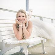 Afterwedding Hochzeitsshooting am Timmendorfer Strand, Braut