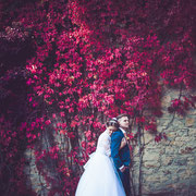 Hochzeitsshooting am Schloss Wolfsburg