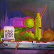 QR Still life ( Omnia mors aequat) / 71 x 98 cm